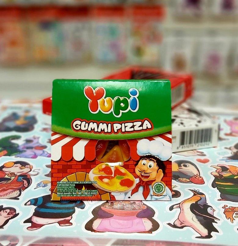 Жевательные конфеты Yupi Pizza