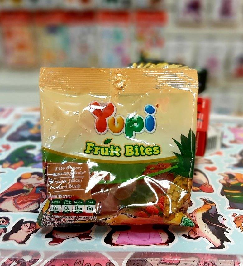 Жевательные конфеты Yupi Fruit Bites