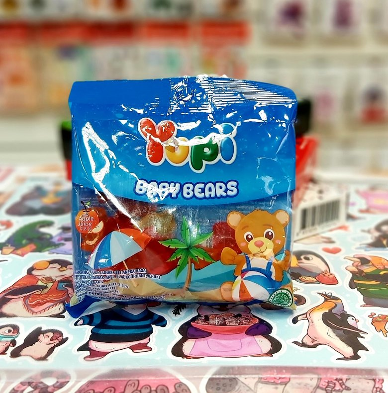 Жевательные конфеты Yupi Bears