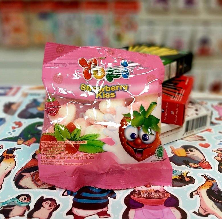Жевательные конфеты Yupi Strawberry Kiss