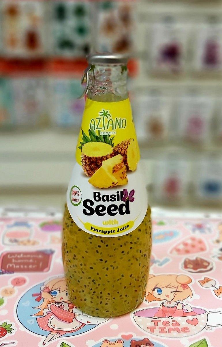 Нектар Aziano Ананаса с семенами базилика 30%