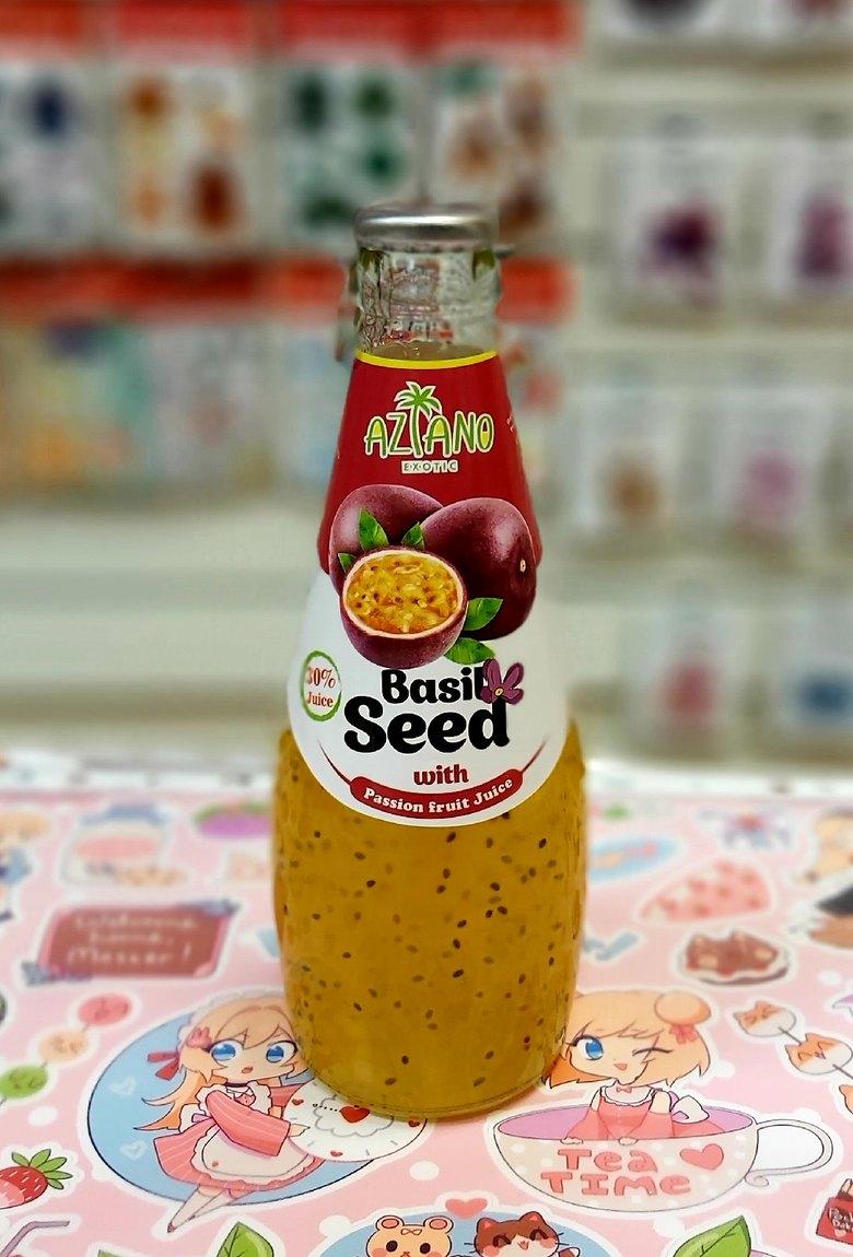 Нектар Aziano Маракуйи с семенами базилика 30%