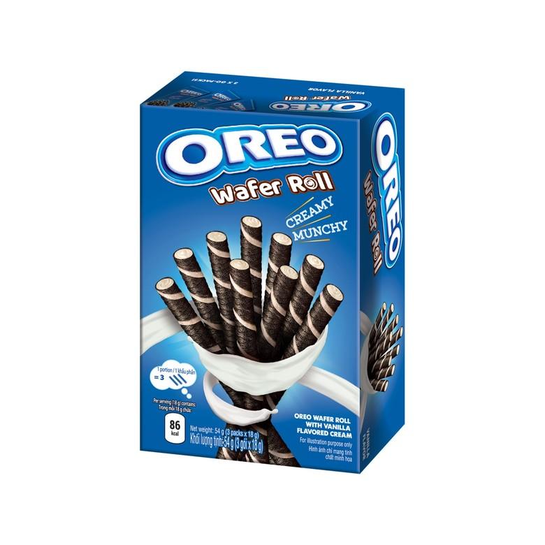 Орео Wafer Roll Ванильные вафельные трубочки
