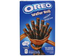 Oreo Wafer Rolls шоколадные вафельные трубочки