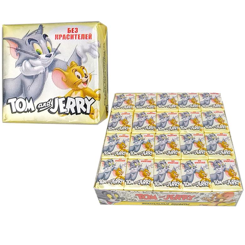 """Жевательные конфеты """"Том и Джерри"""" со вкусом Дыни"""
