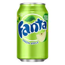 Fanta со вкусом зеленого яблока