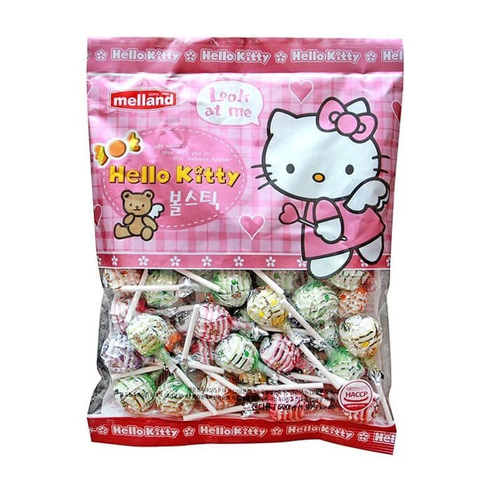 "Карамель ""Hello Kitty ball stick candy"""