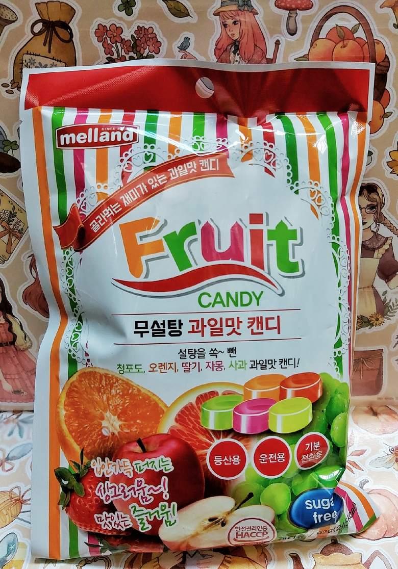 Карамель без сахара со вкусом зеленого винограда, апельсина, клубники, грейпфрута, яблока
