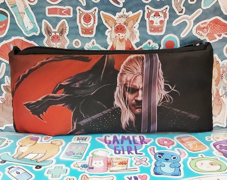 Мягкий пенал Ведьмак/The Witcher
