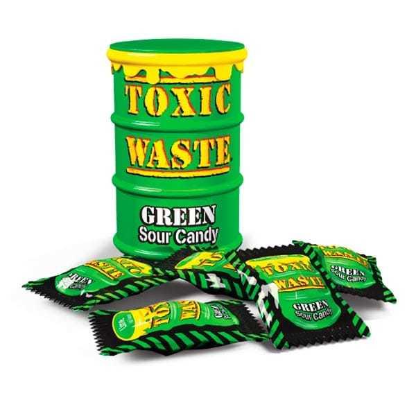 Toxic Waste (зеленая банка)