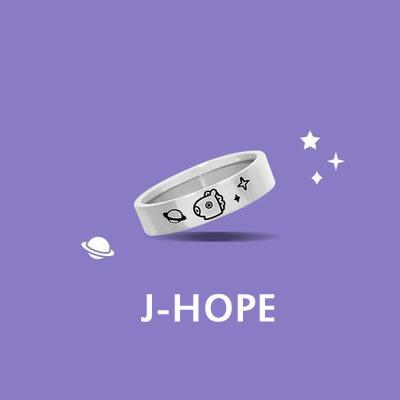 Кольцо BTS JHOPE