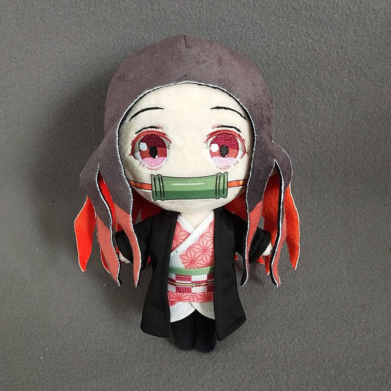 Мягкая игрушка Клинок, рассекающий демонов/Demon Slayer: Kimetsu no Yaiba (Незуко)