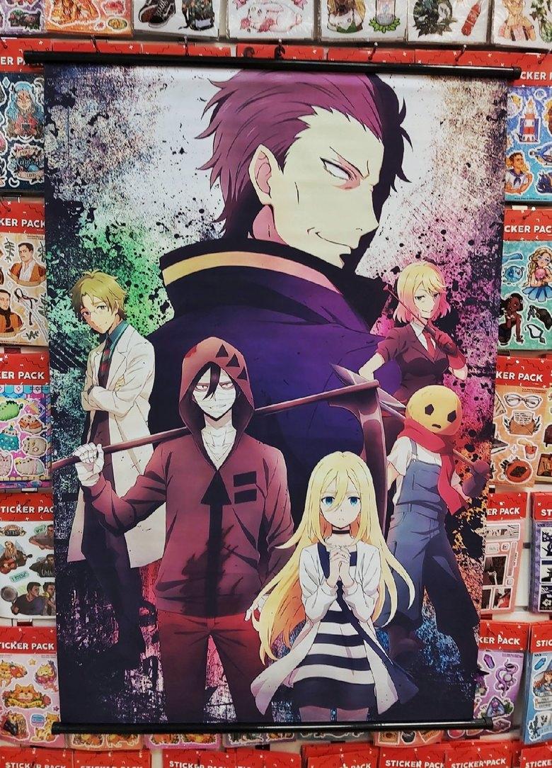 Тканевый плакат Ангел кровопролития/Satsuriku no Tenshi