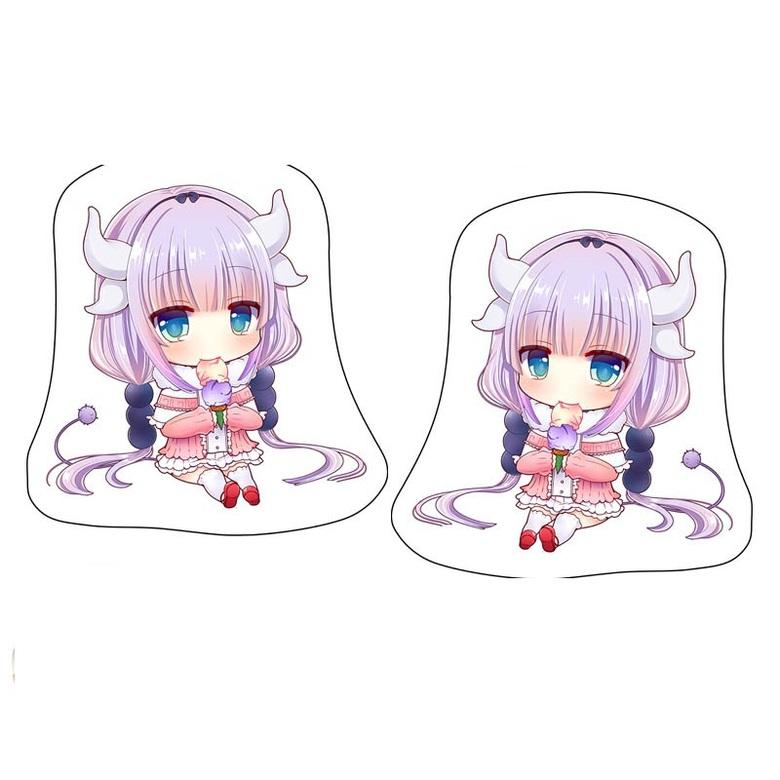 Декоративная фигурная подушка Дракон-горничная Кобаяши-сан/Kobayashi-san Chi no Maid Dragon (2)