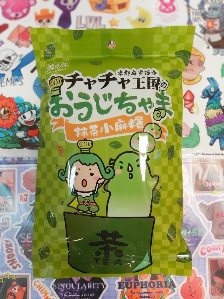 "Дайфуку-М-«Юки» "" Принц Ча-Ча "" с зеленым чаем Матча"