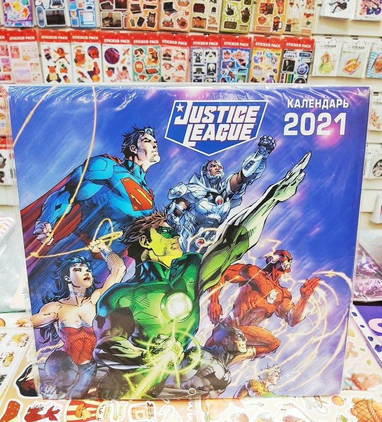 Календарь Вселенная DC Comics