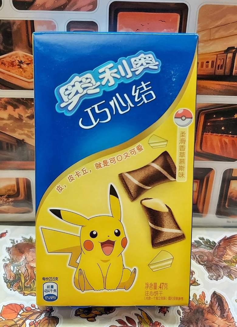 Подушечки Oreo со вкусом ванили, (серия Pokemon)