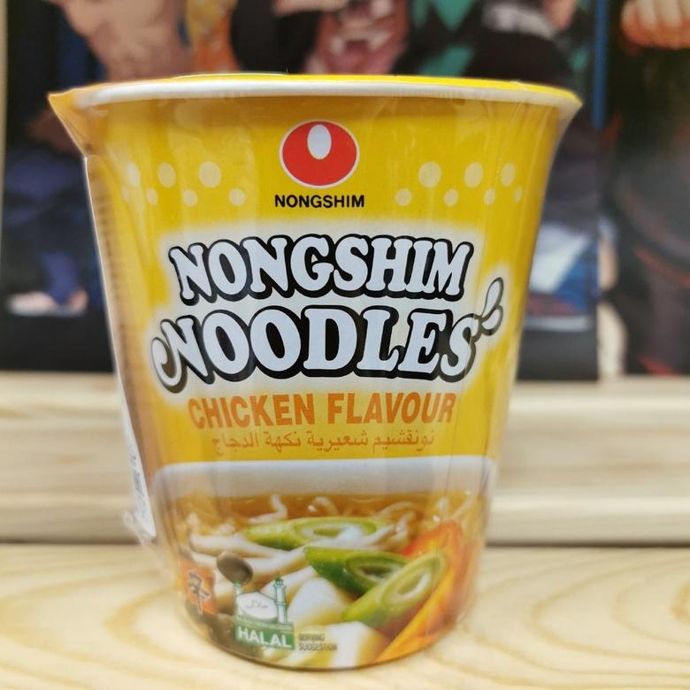 Лапша быстрого приготовления Нонгшим со вкусом курицы