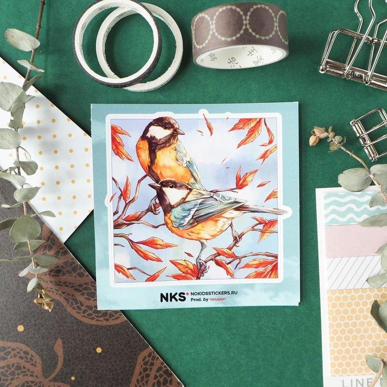 Card Lil Birds 3