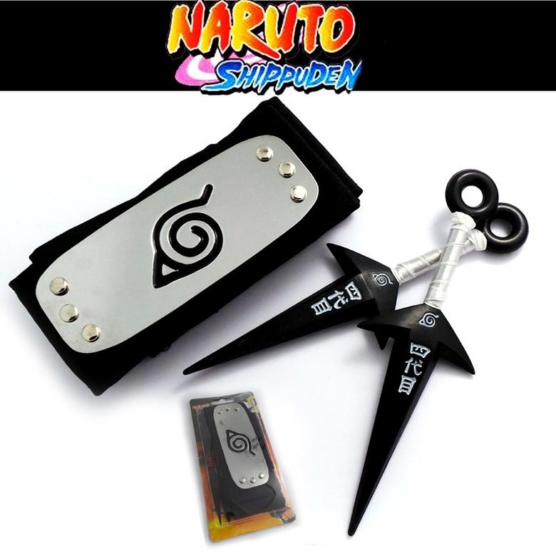 Набор Наруто\Naruto (бандана и кунаи) (4)