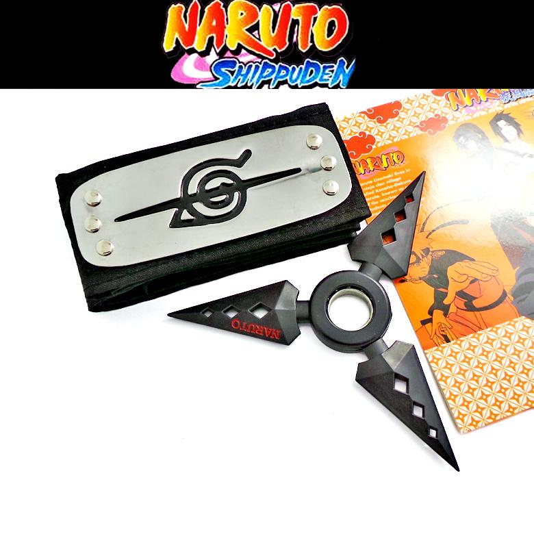 Набор Наруто\Naruto (бандана и сюрикен) (2)
