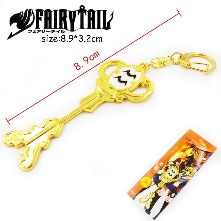 Брелок Ключ Хвост феи/Fairy Tail (Водолей)