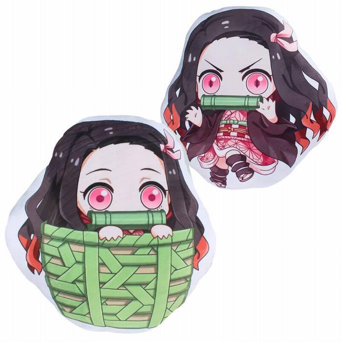 Декоративная фигурная подушка Клинок, рассекающий демонов/Demon Slayer: Kimetsu no Yaiba (2)