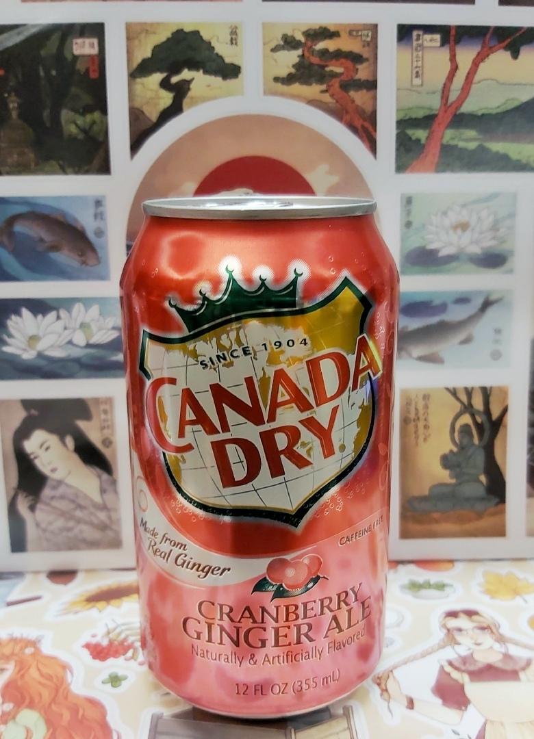 Канада Драй со вкусом клюквы