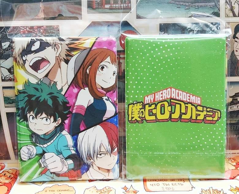 Обложка на паспорт Моя геройская академия/Boku no Hero Academia