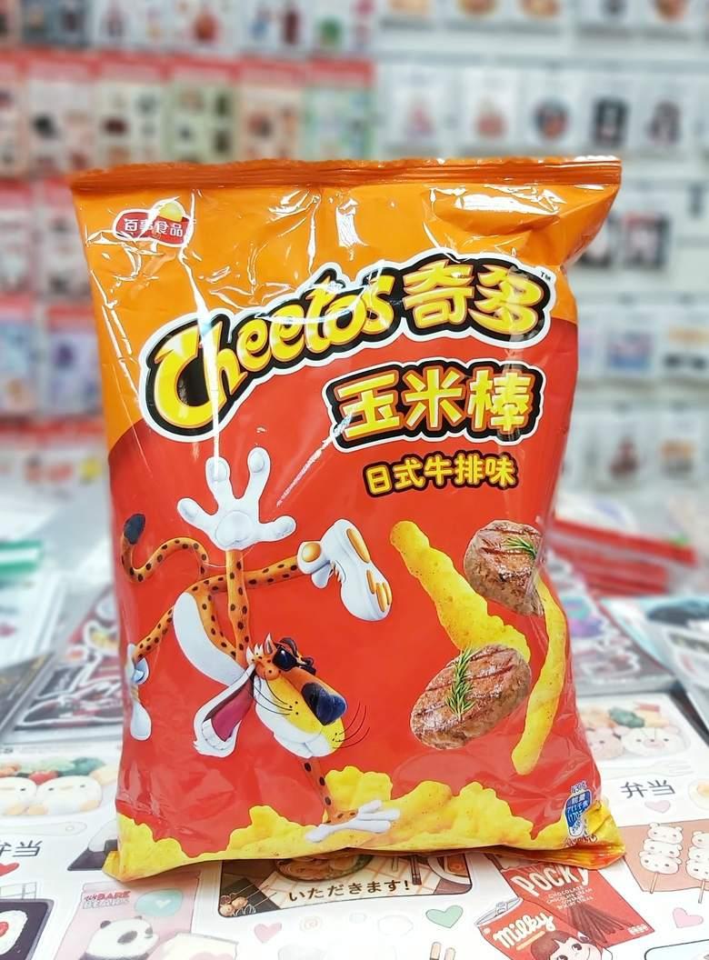 Чипсы Cheetos Crunchy со вкусом японского стейка