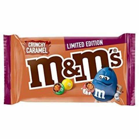 M&Ms Драже Crunchy caramel