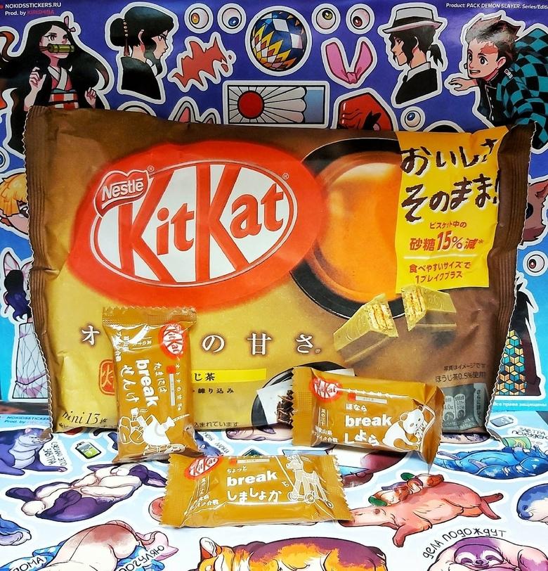 KitKat со вкусом красного чая Ходзича (порционный)