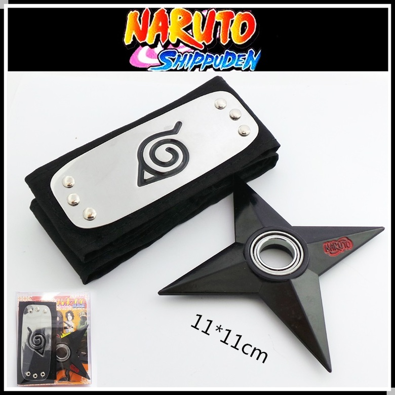 Набор Наруто / Naruto (Бандана и сюрикен)