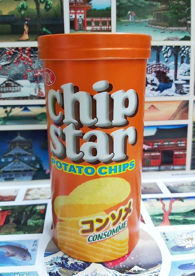 Чипсы Yamazaki со вкусом консомэ (Япония)