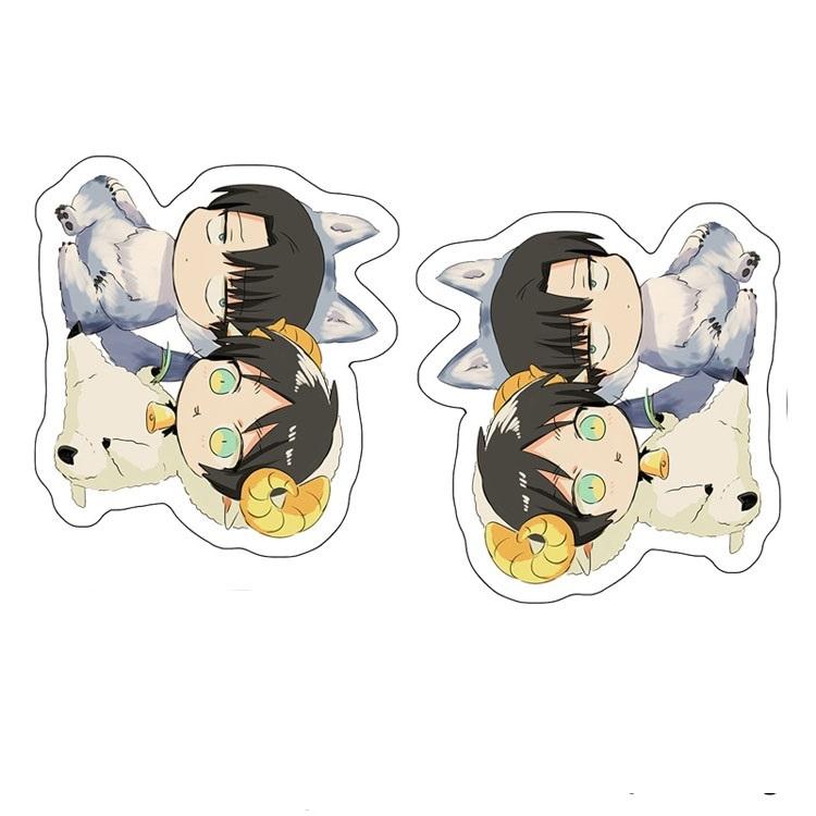 Декоративная фигурная подушка Атака титанов/Shingeki no Kyojin (1)