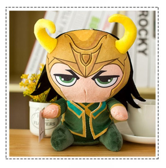Мягкая игрушка Локи/Loki