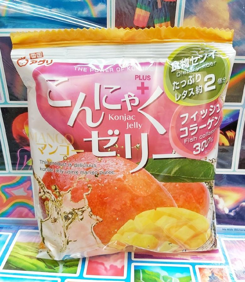"""Желе """"Yukiguni Aguri"""" Конняку со вкусом манго"""