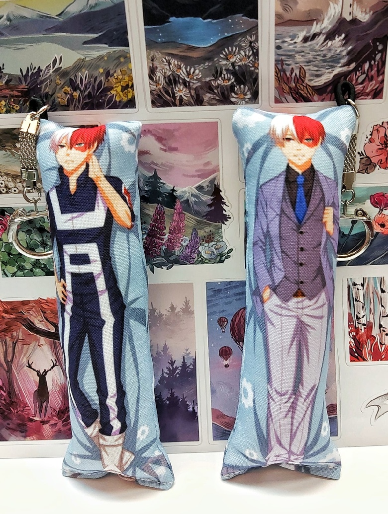 Декоративная мини-дакимакура Моя геройская академия/Boku no Hero Academia (2)