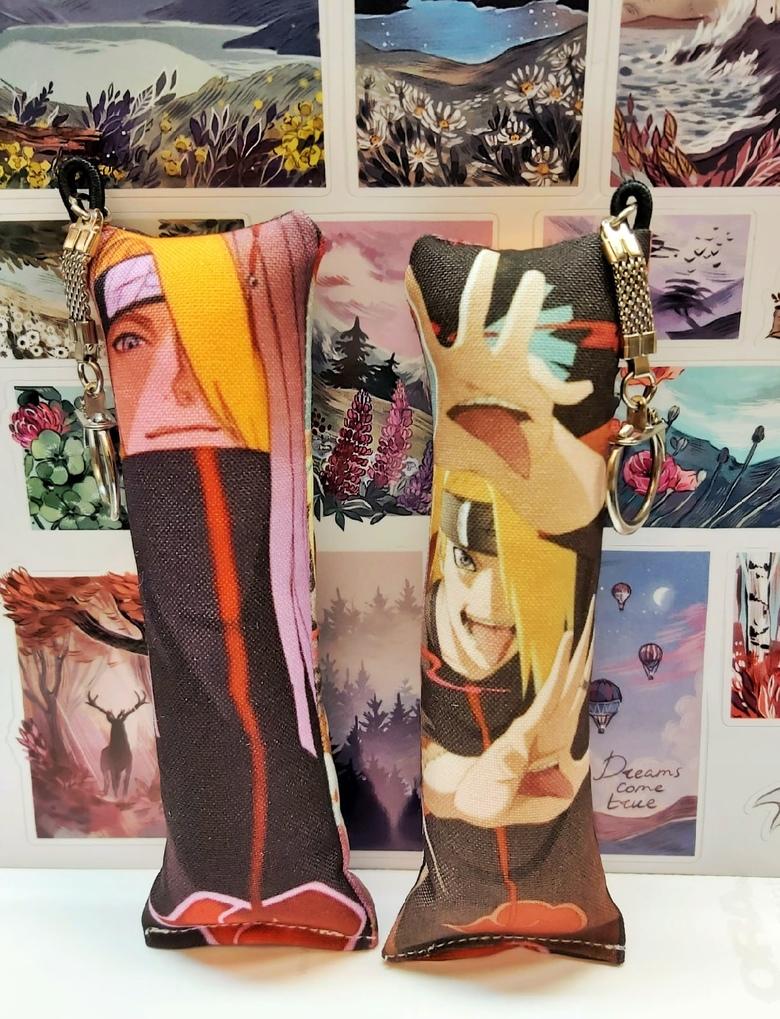Декоративная мини-дакимакура Наруто/Naruto (6)