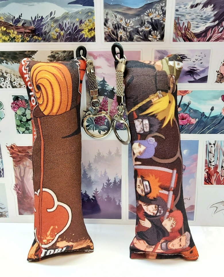 Декоративная мини-дакимакура Наруто/Naruto (8)
