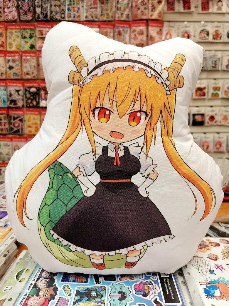 Декоративная фигурная подушка Дракон-горничная Кобаяши-сан/Kobayashi-san Chi no Maid Dragon (3)