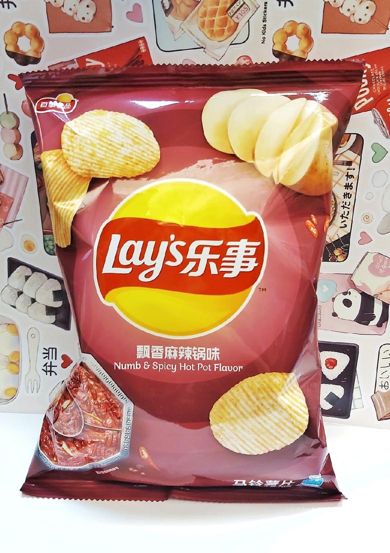 Чипсы Lay's со вкусом острого блюда