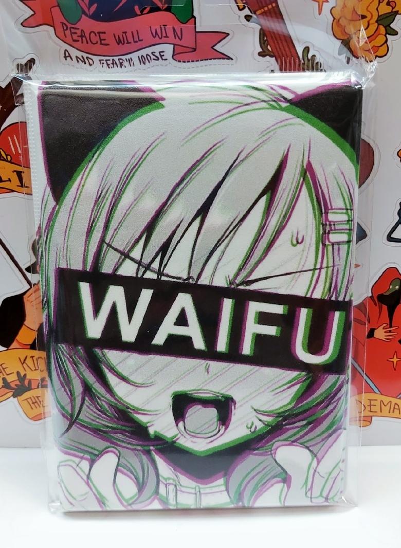 Обложка для паспорта Waifu