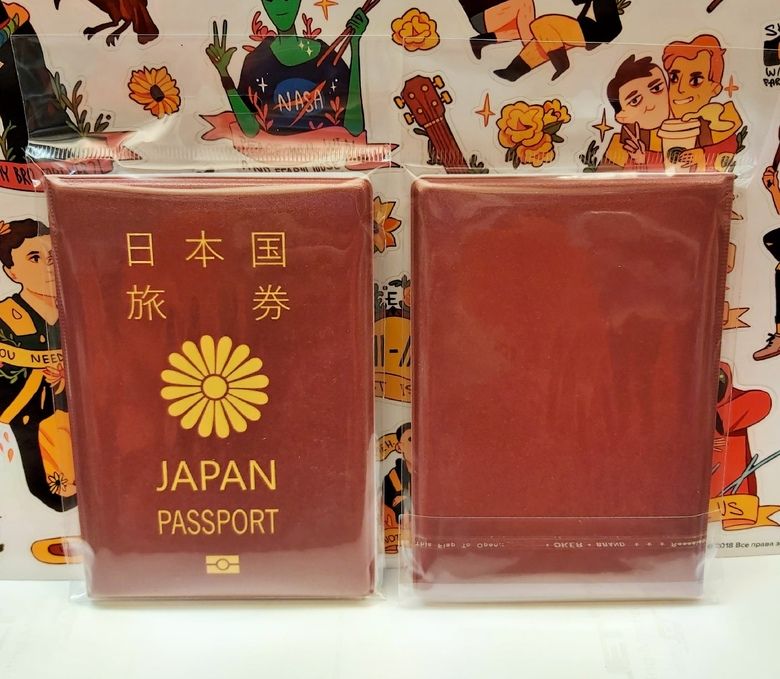 Обложка на паспорт Japan