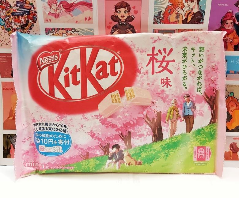 Шоколад Kit Kat со вкусом сакуры