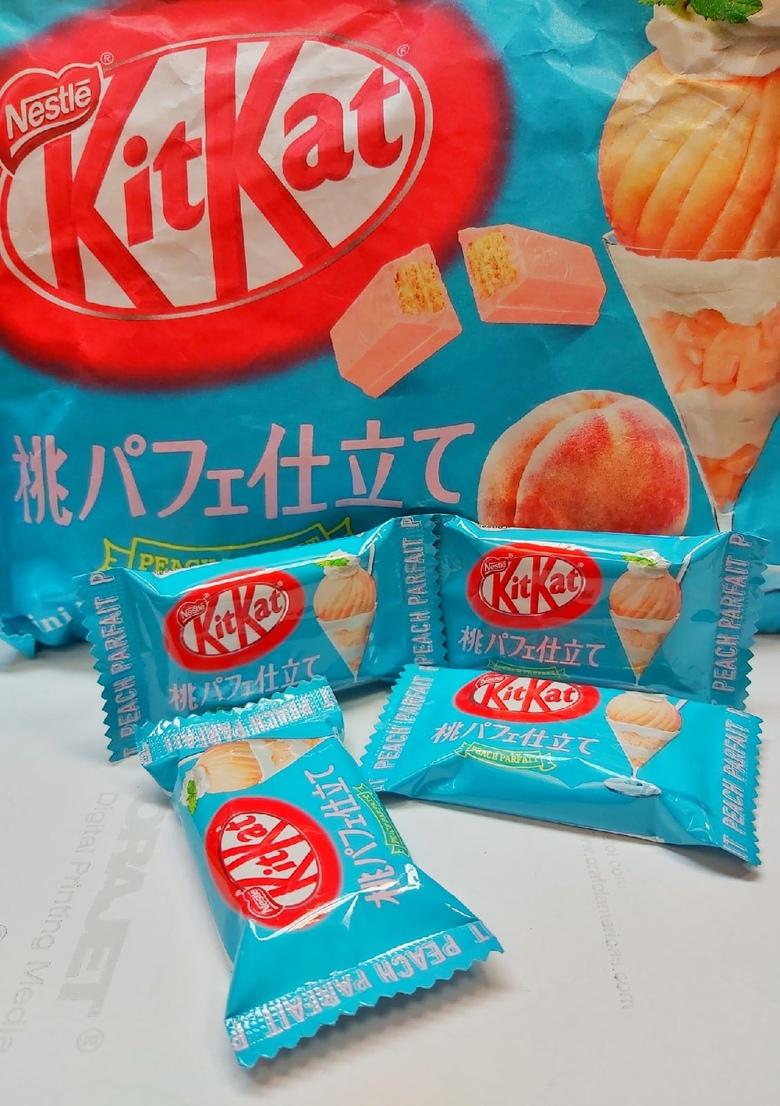 Шоколад Kit Kat со вкусом персика (порционный)