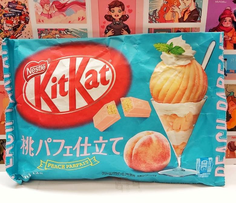 Шоколад Kit Kat со вкусом персика