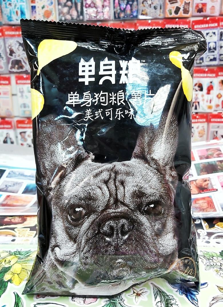 Чипсы Single dog со вкусом колы