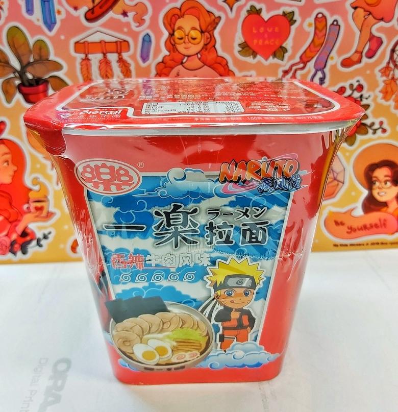 """Лапша """"Naruto"""" со вкусом говядины в остром соусе"""