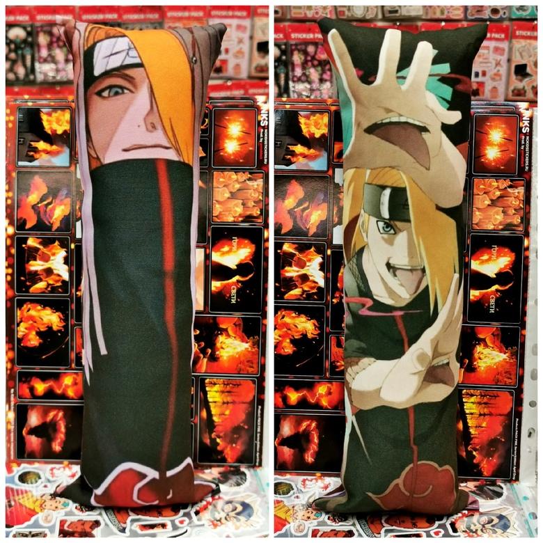 Декоративная средняя дакимакура Наруто/Naruto (7)